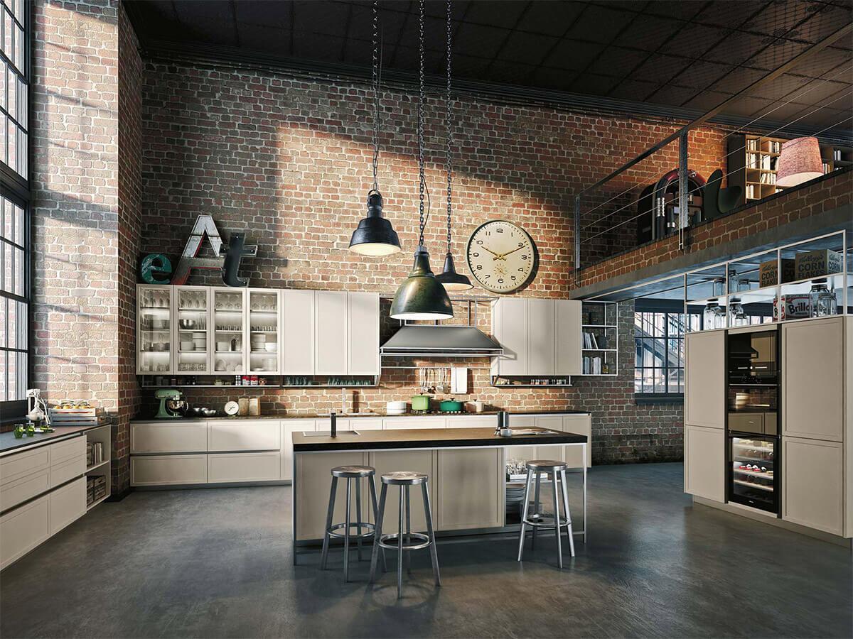 Неоклассическая Кухонная Мебель