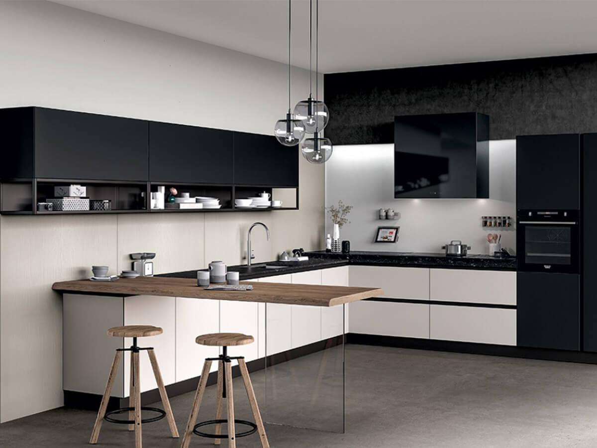 современная мебель кухня